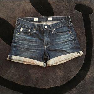 AG Jeans Hailey Ex- Boyfriend Roll Up Short sz 26